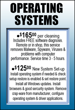 Repair Operating Systems information